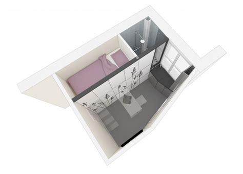 8 square meters plan 3d petit appartement 8 m 232 tres carr 233 s