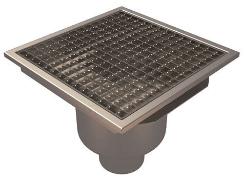 Square Floor L with Floor Gully Concrete Flooring L15 Square Grating Bottom Outlet 216 110 300x300