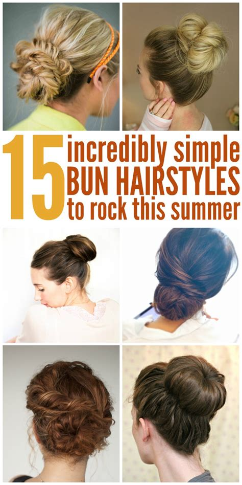 working moms mediun hairstyle 4 easy date night hair 15 easy bun hairstyles to rock this summer