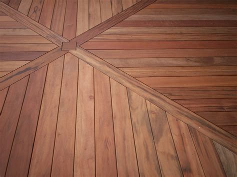 Hardwood Floor Patterns Ideas Deck Builder In Chesterfield Chesterfield Deck With Tigerwood Decking St Louis Decks