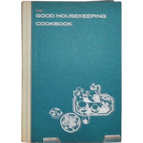 The Good Housekeeping Cookbook c.1963 from vintagevault on