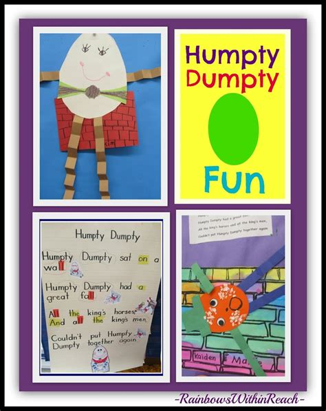 full humpty dumpty rhyme 1000 images about nursey rhymes activities on pinterest