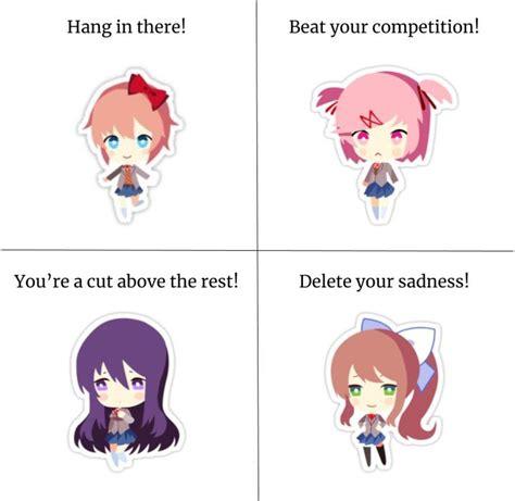 Doki Doki Literature Club Memes - doki doki literature club play on pinterest literature anime and gaming