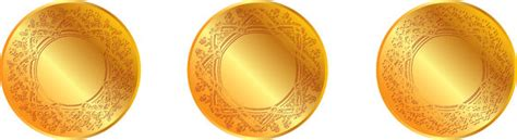 gold medal pattern blank gold seal stock vector image of graphics space