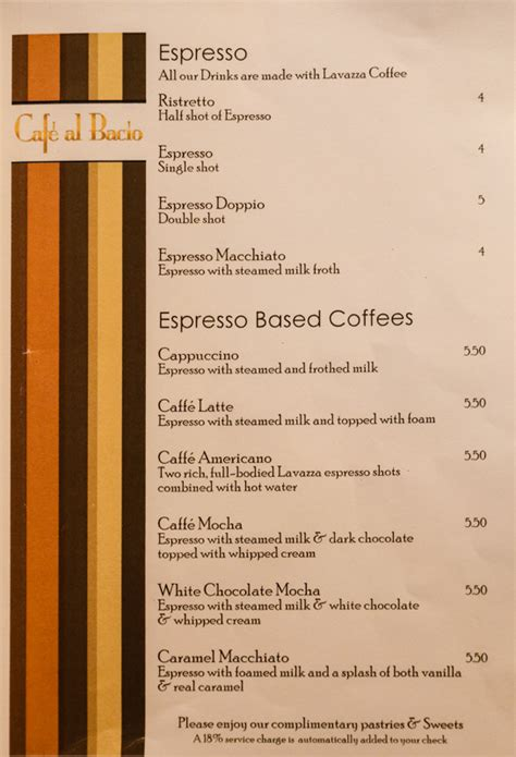 eclipse room service menu eclipse so caribbean menus