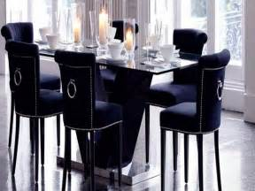 navy blue dining room chair covers