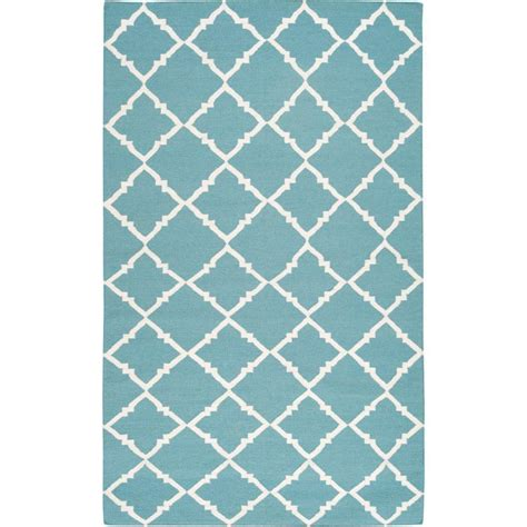 teal green rug artistic weavers dorado teal green 8 ft x 11 ft flatweave area rug barinas 811 the home depot