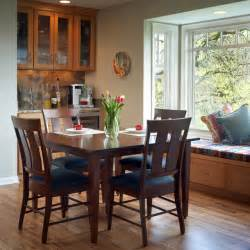 Dining Room Bay Window Kraft Custom Construction Dining Bar Bay Window Traditional Dining Room Portland