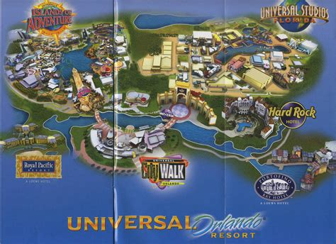 universal map florida state travel all together