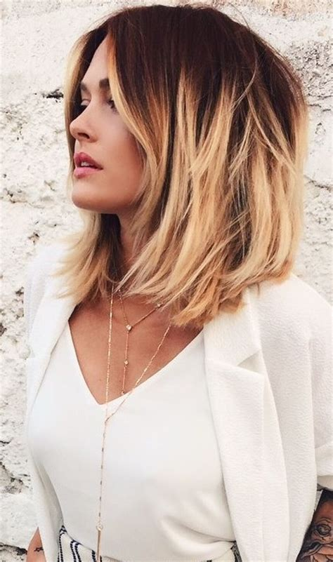 Trendy Medium Length Hairstyles 2016 by 2016 Trendy Ombre Hair Colors For Midlength Haircuts 2016