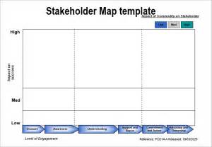 Stakeholders Map Template by 8 Best Templates To Analysis Stakeholders Word Excel