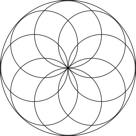 design pattern use circle design pattern using compass www imgkid com the