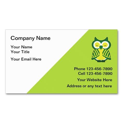 tutoring business cards template 2148 best images about business cards on