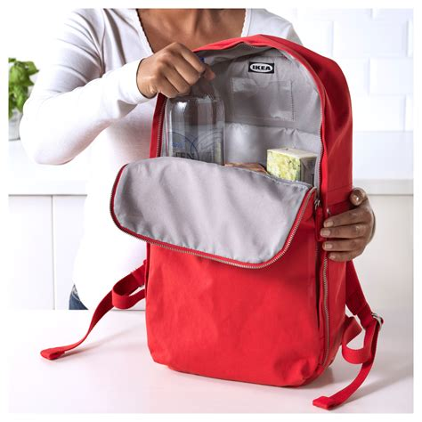 ikea backpack f 214 renkla backpack red 15 l ikea