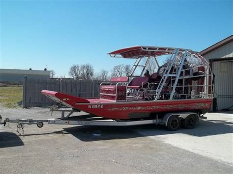airboat for sale michigan airboat 2008 gto 20ft duramax diesel for sale in bay city