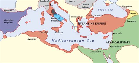The Byzantine Empire Russia And Eastern Europe Outline Map by A Brief History Of Western Culture Things Khan Academy