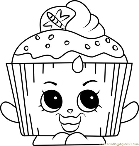 shopkins coloring pages cupcake queen print shopkins cupcake queen coloring pages free printable