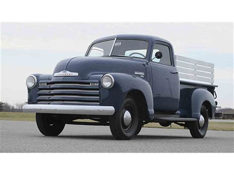 1950 chevrolet 3100 1 2 ton for sale classiccars