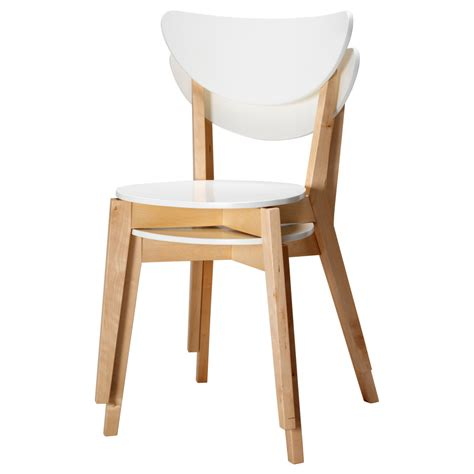 chaise ikea blanche chaise de cuisine a ikea