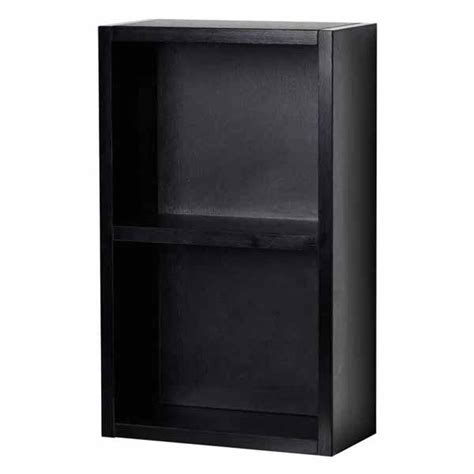 12 Inch Storage Cabinet by 12 Inch Linen Cabinet With Open Storage In Black Tn T690