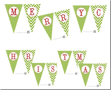 Printable Christmas Banners Behind Mytutorlist Com Merry Letter Banner Template