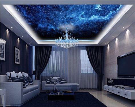galaxy wallpaper room galaxy ceiling living room interior jpg 640 215 508 living
