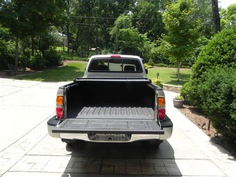 toyota tacoma bed liner purchase used trd silver bed liner and cover mint
