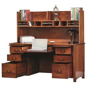 Rivertown Furniture by Y T Woodcraft Rivertown Home Office Desk With Two Pencil