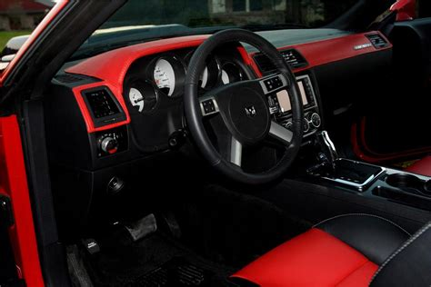 Custom Challenger Interior by 2008 Dodge Challenger Custom Coupe 81607