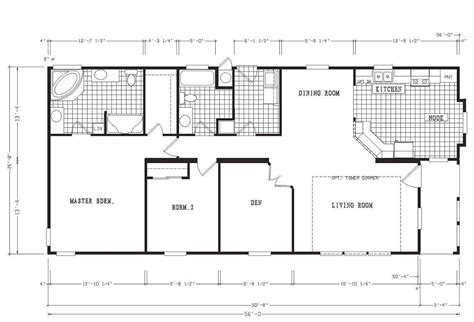 five bedroom mobile homes 4 bedroom 3 5 bath mobile home floor plans
