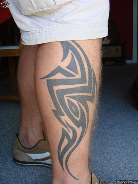 mens tattoo leg designs tribal designs leg for tattoos