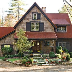 Ballard Design Catalog best new cottage rusted metal roof best new cottage