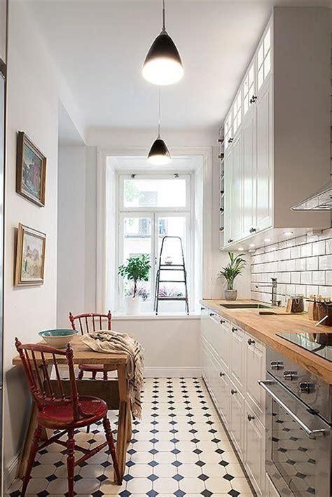 decorar cocina estrecha hogar diez c 243 mo decorar cocinas alargadas