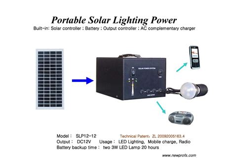 portable solar lighting system china portable solar lighting system slp12 12 china