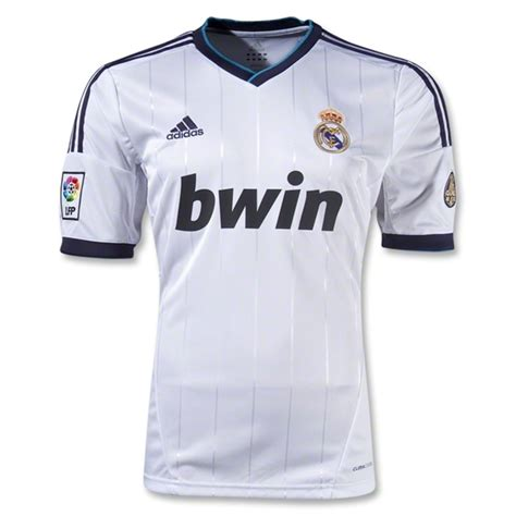 12 13 real madrid white home soccer jersey shirt replica