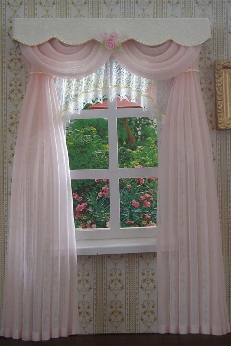 doll house curtains doll house curtains 28 images burgundy print valance dollhouse curtains 5 1 2 quot