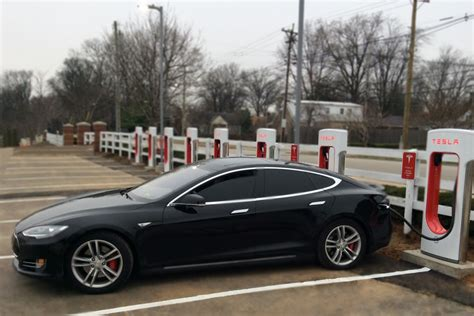 Tesla Solar Charging Station Sullivan Continues Sustainability Efforts With Tesla
