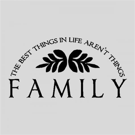 Expressions Home Decor by Family The Best Things Family Wall Quotes Words Sayings