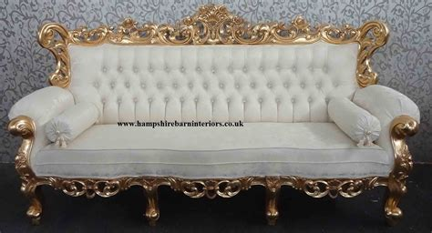 Ornate Sofas by Ornate Italian Furniture Gold Leaf