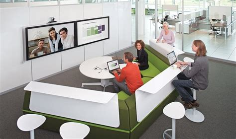 collaborative work space art rent and lease steelcase s brilliant workstations are
