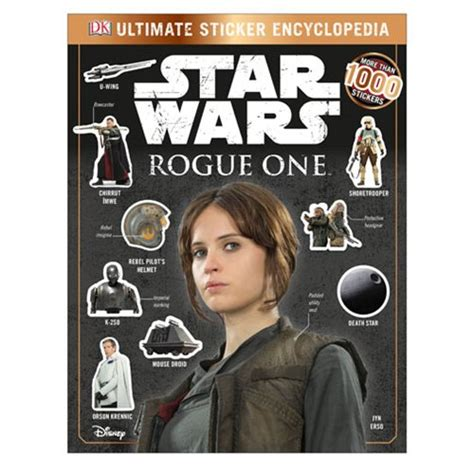 wars rogue one ultimate sticker encyclopedia book dk publishing wars books at