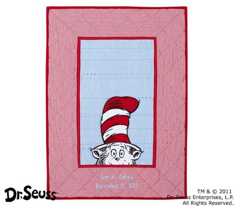 Cat In The Hat Crib Bedding by Dr Seuss Cat In The Hat Baby Bedding Set Pottery Barn