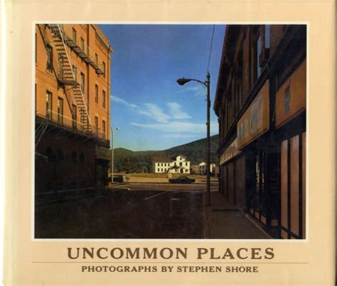 libro stephen shore uncommon places uncommon places stephen shore first edition