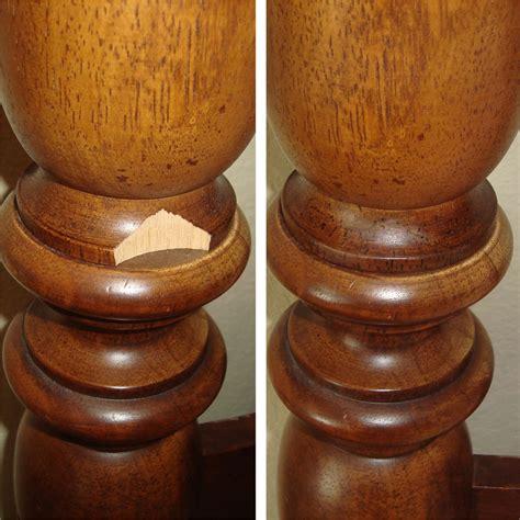 Wooden Bedpost by Work Gallery Restoration Plus