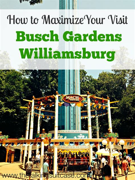 Busch Gardens Showtimes by How To Maximize Your Visit To Busch Gardens Williamsburg