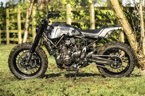 Tieferlegung Yamaha Xsr 700 by Yamaha Xsr700 Yard Built Craft Scr Visordown