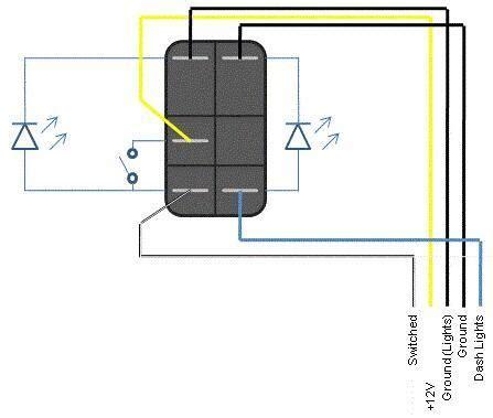 carling contura rocker switch wiring diagram get free