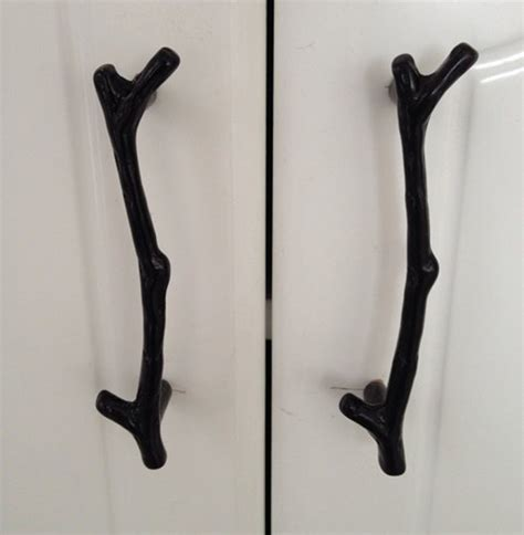 Kitchen Cabinet Knobs Or Handles by 2015 New 96mm Vintage Tree Branch Twig Furniture Handles