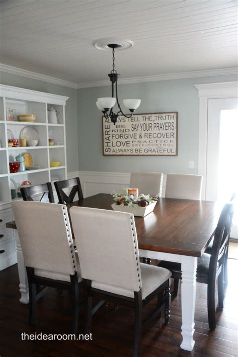 Solid wood dining room