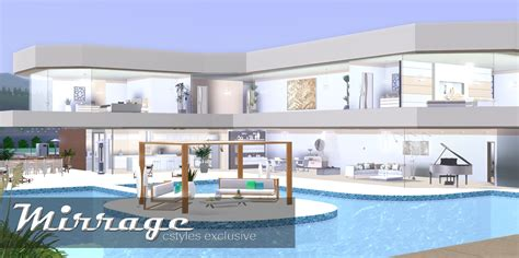 Devine Homes Floor Plans by Ice1 Sims3 Creations Mirrage 3 Bedroom Modern House